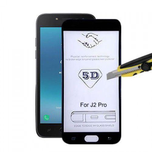 Película de Vidro 3D 5D e 6D Samsung Galaxy J2 Core - Preta