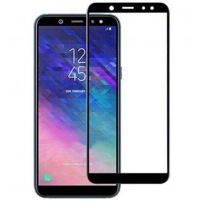Película de Vidro 3D para Samsung Galaxy J6 2018 - Preta