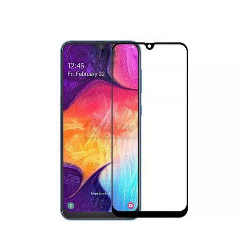 Película De Vidro 3D 5D Samsung A30 e A50 Tela Toda - Preta