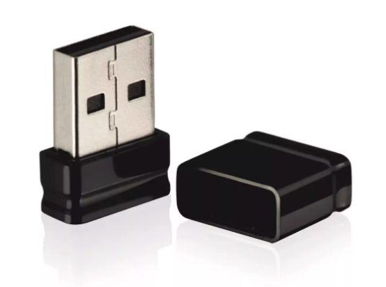 Pen Drive Nano 16GB USB Leitura 10MB/S e Gravação 3MB/S Preto Multilaser