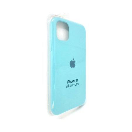 Capa Case Apple Silicone para iPhone 11 - Azul Claro