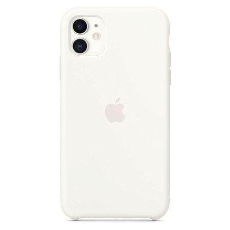 Capa Case Apple Silicone para iPhone 11 - Branca