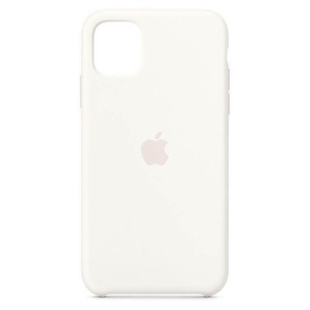 Capa Case Apple Silicone para iPhone 11 - Branca