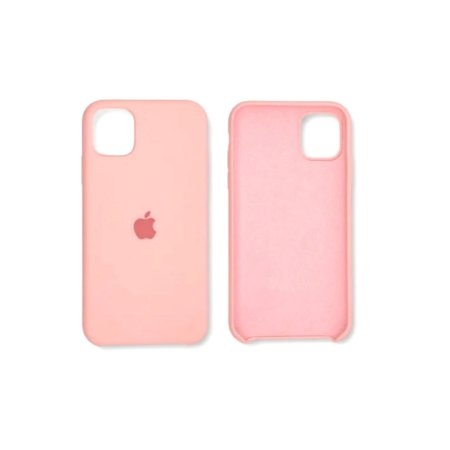 Capa Case Apple Silicone para iPhone 11 - Rosa