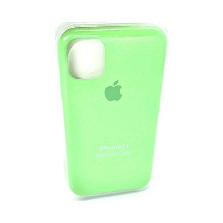 Capa Case Apple Silicone para iPhone 11 - Verde