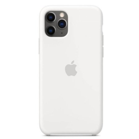 Capa Case Apple Silicone para iPhone 11 Pro - Branco