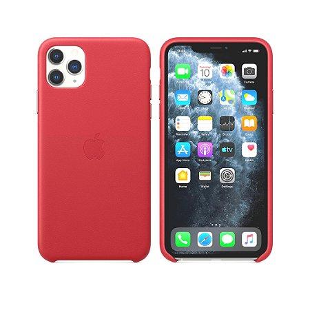 Capa Case Apple Silicone para iPhone 11 Pro - Vermelha