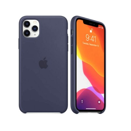 Capa Case Apple para iPhone 11 Pro Max - Azul Marinho