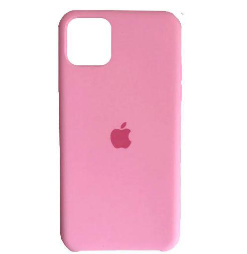 Capa Case Apple Silicone para iPhone 11 Pro Max - Rosa