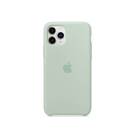 Capa Case Apple Silicone para iPhone 11 Pro Max - Cinza