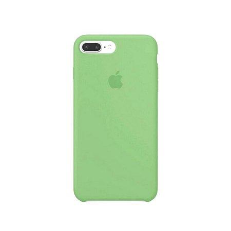 Capa Case Apple Silicone para iPhone 7 8 Plus - Verde