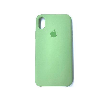 Capa Case Apple Silicone para iPhone XR 6.1 - Verde