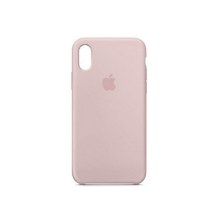 Capa Case Apple Silicone para iPhone Xs Max - Rosa Areia