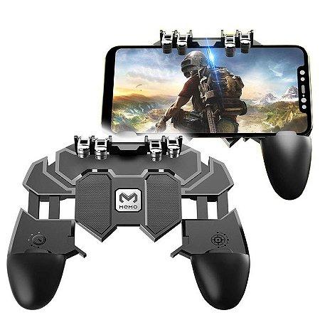 Suporte Gamepad Controle com L1 L2 R1 R2 AK66 - Preto