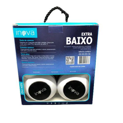Fone de ouvido Headset Bluetooth Inova FON-2308D