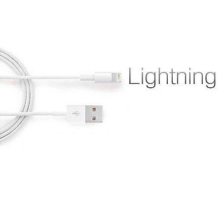 Kit 5 Cabos Lightning compatível com iPhone 6, 7 , 8