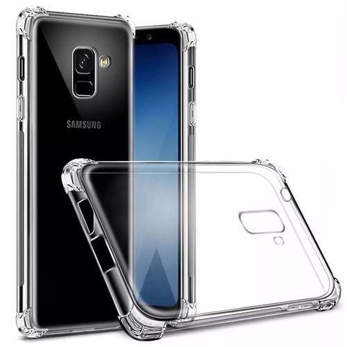 Capa Silicone Anti Impacto para Samsung J8 - Incolor