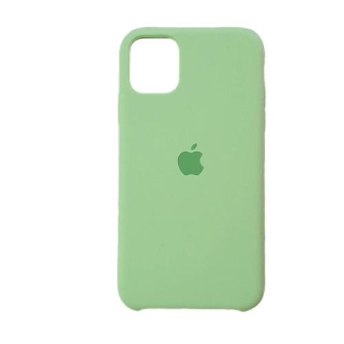 Capa Case Apple Silicone para iPhone 11 Pro Max - Verde