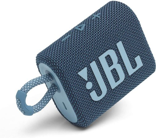 JBL GO 3 Caixa de som portátil à prova d'água - Azul