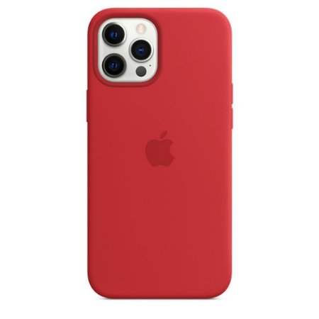 Capa Case Apple Silicone para iPhone 12 Pro Max - Vermelha