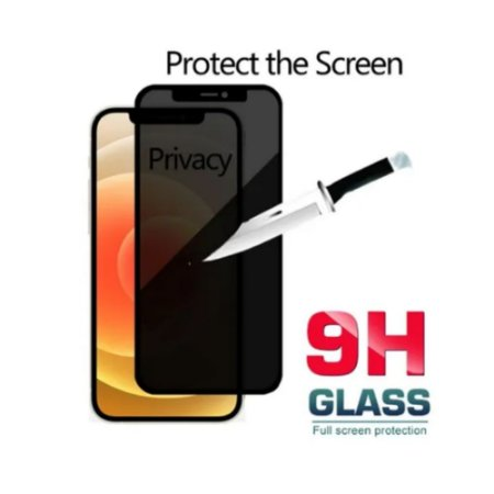 Pelicula de Vidro 3D Privacidade para iPhone 12 e 12 Pro