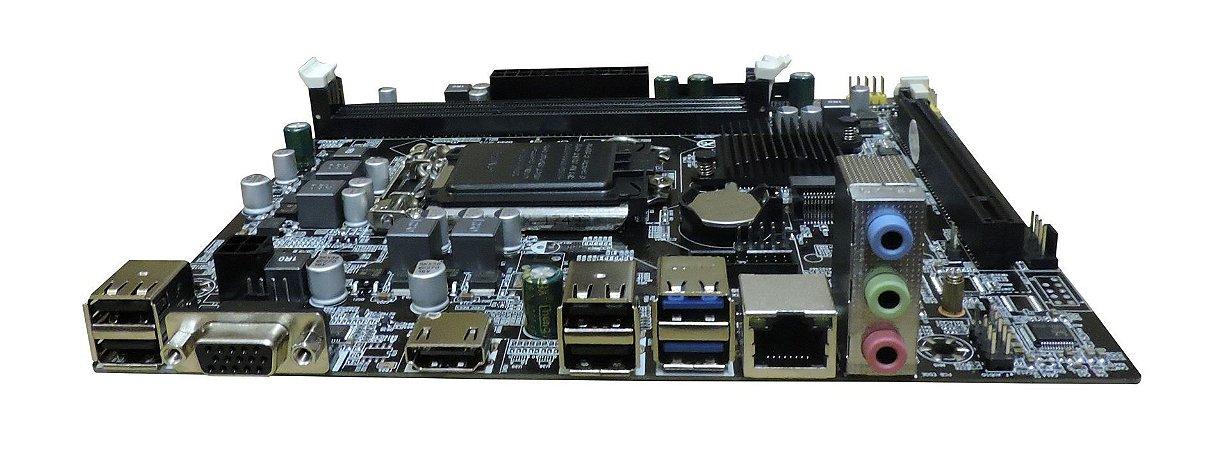 PLACA MÃE DESKTOP 1151 BPC-H110M-DDR3