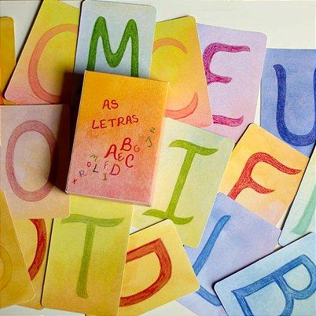 Jogos infantis Waldorf Querida Clementina: As Letras e Letras e Coisas