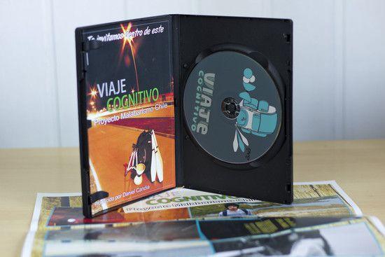DVD Viaje Cognitivo - Proyecto Malabarismo Chile