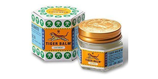 Dor de cabeça nunca mais! Tiger Balm Branco 9ml - últimas unidades!