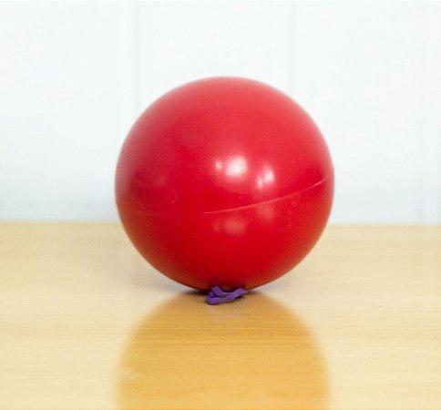 Bola de vinil vazia 120mm para malabarismo de contato (Jea9) - EXCLUSIVA no Brasil!