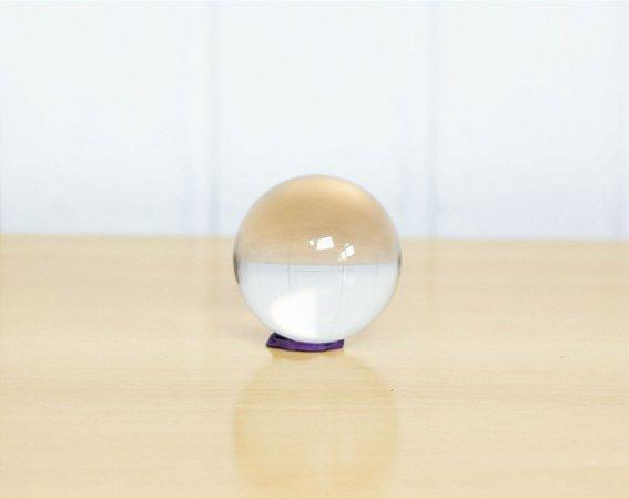 Bola de contato transparente em acrílico 60mm - Novas