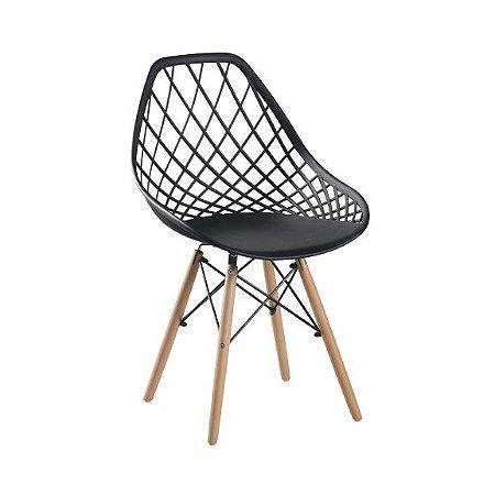 Cadeira Cloe - preta - Roko Móveis