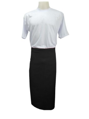 Avental de Cintura Longo Oxford - Unissex