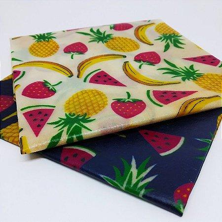 Frutas {Tecido de Cera * Kit com 2 G}