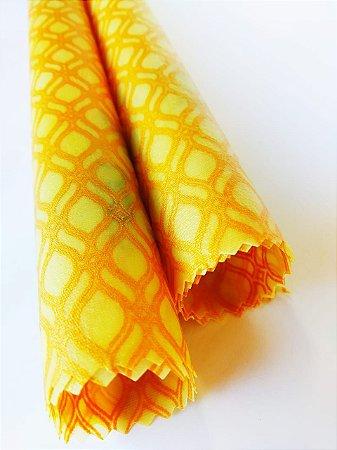 Dourado {Tecido de Cera * Kit com 2 P}
