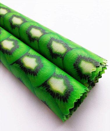 Kiwi {Tecido de Cera * Kit com 2 P}