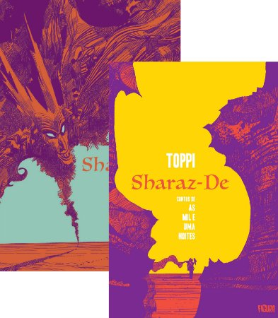 SHARAZ-DE VOLS. 1 E 2 (Últimos exemplares)