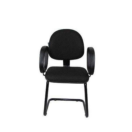Cadeira Executiva  fixa S com braço corsa