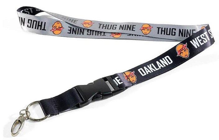 Chaveiro cordão Thug Nine 2 PAC Oakland Side