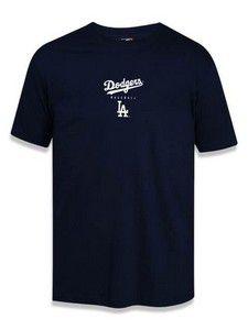 Camiseta New Era Blocked Los Angeles Dodgers MLB