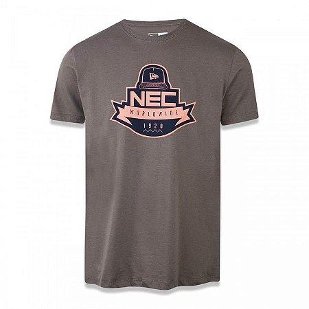 Camisa New Era Nec Worldwide Branded