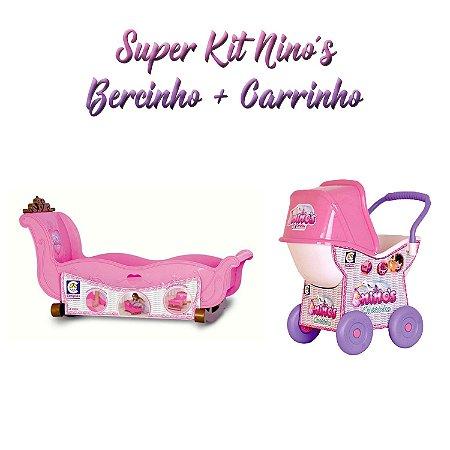1b5a29f89bd2 Kit Carrinho e Berço para Bebê Reborn - Sonho de Criança | O Seu ...