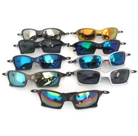 ff26eb899d8ec Kit 05 Óculos Oakley Replica No Atacado Para Revenda