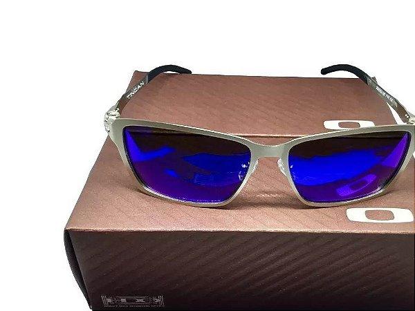 5cdfed85b Replica de Óculos Oakley Tincan Azul Escuro Polarizado - Replicas de ...