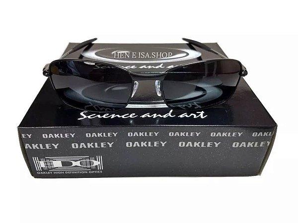 07406140b Replica Oculos Oakley Square Whisker Preto Replicas de Primeira ...
