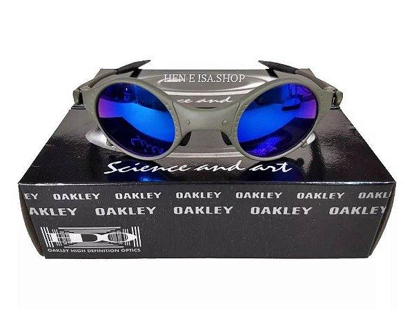 87e7e5d6b Replica De Oculos Oakley Mars Medusa X-metal Azul - Replicas de ...
