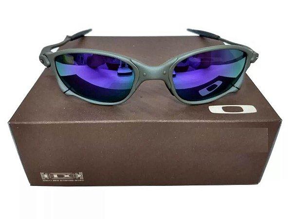 7e2e1096f1dba Replicas de Óculos Oakley Juliet Primeira Linha. Previous  Next. Oculos  Oakley Double Xx Roxa Certificado + Teste