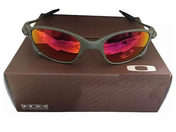 8120af78d Replicas de Óculos Oakley Juliet Primeira Linha. Previous; Next. Oculos  Oakley Double Xx Ruby + Caixa + Saquinho Oakley