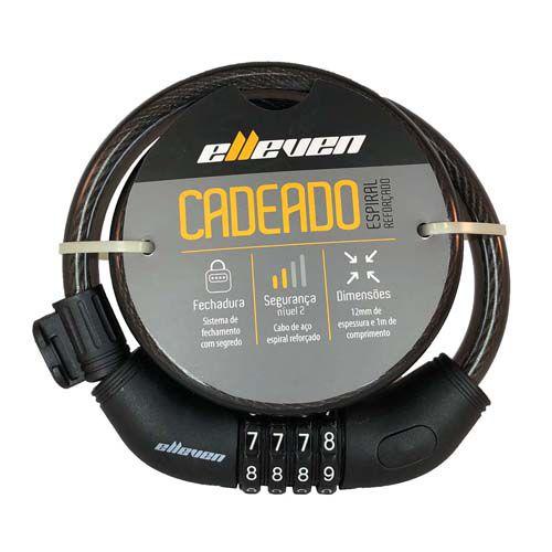 CADEADO ELLEVEN SEGREDO 1000X12MM
