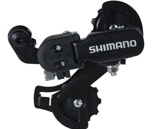Câmbio Traseiro Shimano Tourney Rd-tz31 6/7 Velocidades